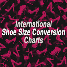 Shoe Size Chart Nz To Us International Shoe Size Conversion Chart