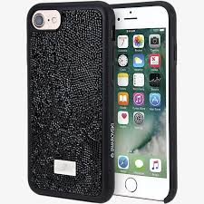 iphone 7 black case. glam rock black smartphone case with bumper for iphone 7 iphone