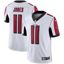 Jones White Julio Jersey Falcons