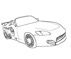 Fast And Furious Coloring Pages Getcoloringpagescom