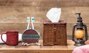 Rustic Moose & Bear Bathroom Accessories