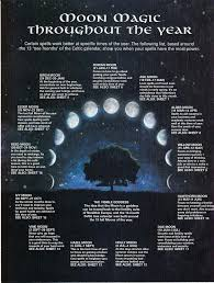 Wiccan Moon Chart Consulting The Magic Of Moon Phases On Flickr Com Moon