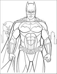 Free Coloring Sheets Batman The Art Jinni