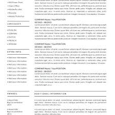 Resume Template Download Mac Free Resume Templates Download New ...