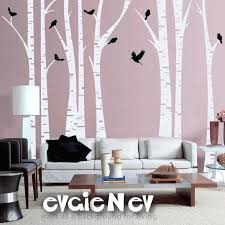 white birch tree wall decal cool website with reasonably d wall birch trees wall decal forest