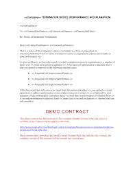 Termination Letter Template Employeermination Lettermplatesmplatexas Service Contract