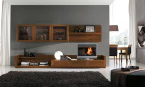 Small Picture Living Room Wall Cabinets Within Modern Wall Units Design For