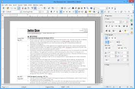Apache Open Office Resume Template Best of Apache OpenOffice Writer