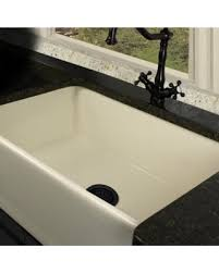 fireclay farmhouse sink. Highpoint Collection 30-inch Bisque Fireclay Farmhouse Kitchen Sink With Grid And Drain (Highpoint N