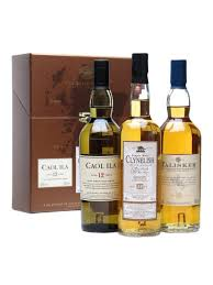 giftset coastal clic single malt gift set 3x20cl