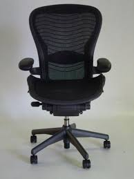 Aeron Office Chair Size Chart Herman Miller Aeron Chair Size C Leather Arm Rests Carbon Color Pellicle Waves