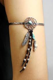 dream catcher with feather and arrow arm cuff dream catcher jewelry dream catchers dream
