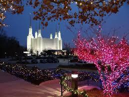 Mormon Tabernacle Washington Dc Christmas Lights Festival Of Lights At The Mormon Temple On The 35th Annive