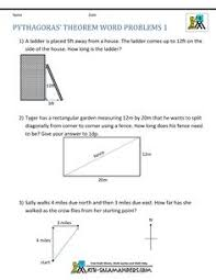 pythagoras theorem questions word problems geometry  pythagoras theorem questions word problems 1