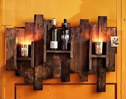 pallet wall hanging bar