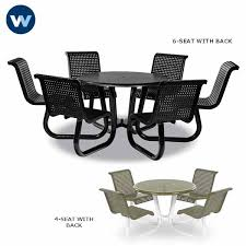 camino series table with attached chairs portable loading zoom