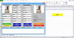 inventory software in excel 10_create stock program with pictures in excel itself the frame