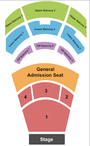 The Novo Seating Chart Los Angeles