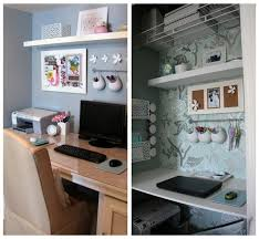 home office in a closet. View In Gallery. Ensure That All The Components Of Your Closet Home Office A C