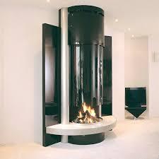 Gas Bottle Wood Burner Design Wood Burning Fireplace Contemporary Open Hearth Built
