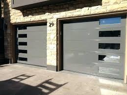Modern Glass Garage Doors Metal Glass Garage Doors Modern Shed