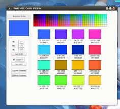 Rgb Hex Color Picker Pling Com
