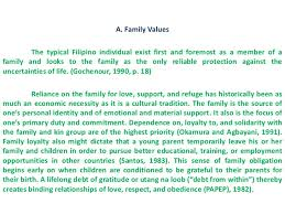 values education personhood development lecture  9 a family values the typical