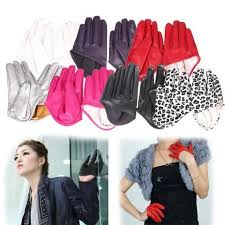 Female <b>Gloves 2017 New Women</b> Tight Half Palm <b>Gloves</b> Imitation ...