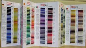 Madeira Embroidery Thread Colour Chart Madeira Rayon Color Chart