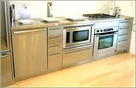 microwave in island. Microwave In Island Kitchen Built With A Cart