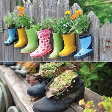 cheap garden decor. 7 Unique Gardening Decor Ideas With Recycled Items Cheap Garden