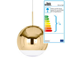 tom dixon mirror ball gold pendant light Ø 40cm