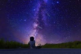 「ブログ用 イラスト 無料 田舎 夜空」の画像検索結果