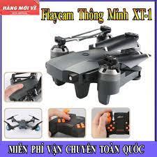 Flycam, Máy Bay Điều Khiển Từ Xa Có Camera XT-1 Chống Rung Quang Học, Quay  Phim Chụp Ảnh Full HD 1080, Cánh Gấp Gọn
