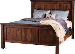 Mission Bedroom Furniture Amish Beds Amish Custom Furniture