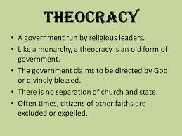 「theocracy」の画像検索結果