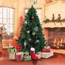 home decor artificial green xmas trees