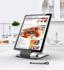 ... Ipad Holder For Kitchen Ipad Kitchen Stand Target Prepara Foldable Tablet  Holder Modern Tablet ...