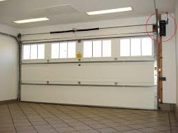image of new garage door opener installation ideas