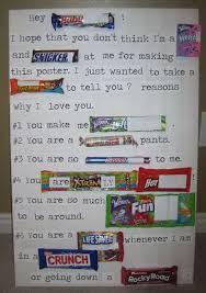 candy bar sayings for birthdays. Exellent For Valentines Candy Bar Poster For Him On Sayings For Birthdays