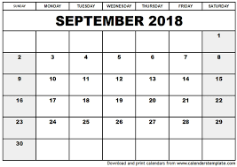 2018 calendar printable free september 2018 calendar with holidays uk monthly calendar template