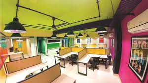 colorful office space interior design. Fine Space Itu0027s A Color Fest At Posist One Cannot Help Notice The Use Of Bold  Vibrant Colors Enhancing Look And Feel Office Space In Colorful Office Space Interior Design E