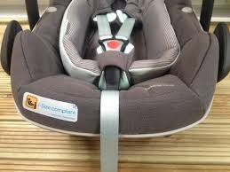 maxi cosi pebble plus car seat i size compliant