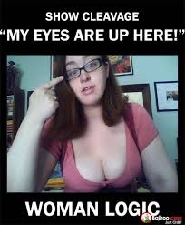 eye-contact-funny-girls-logic-meme-pics.jpg via Relatably.com