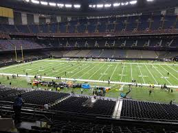 Saints Superdome Virtual Seating Chart Mercedes Benz Superdome View From Club Level 334 Vivid Seats
