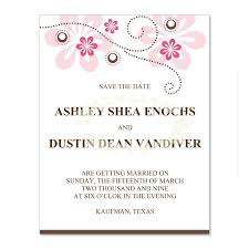 pink brown save the date templates crystal fuschia do it yourself save the date cards