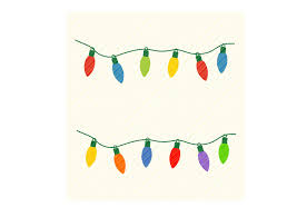 Freesvg.org offers free vector images in svg format with creative commons 0 license (public domain). Christmas Lights String Lights Graphic Graphic By Svgplacedesign Creative Fabrica