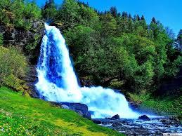 beautiful waterfall hd wallpaper