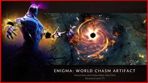 elegant enigma world chasm artifact new ti5 hud dota 2 youtube