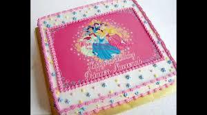 Disney Princess Birthday Cake Ideas Party Youtube 1280720